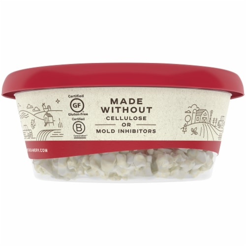 Vermont Creamery Classic Crumbled Goat Cheese Perspective: right