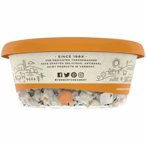 Crumbled Apricot & Thyme Goat Cheese Perspective: right