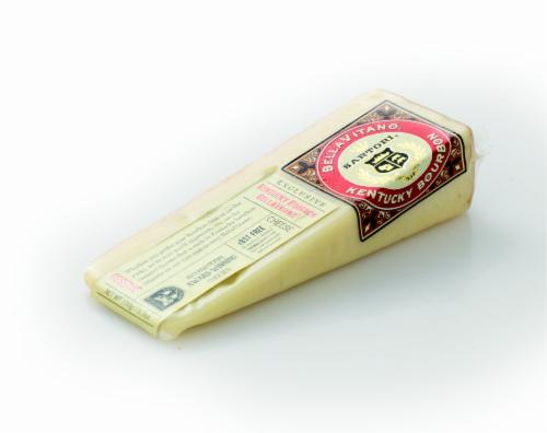 Sartori BellaVitano Kentucky Bourbon Cheese Perspective: right