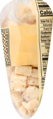 Sartori Black Pepper BellaVitano Cheese Cubes Perspective: right
