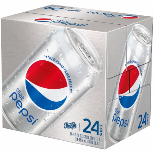 Diet Pepsi Cola Soda 24 Pack Perspective: right