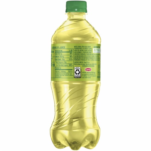 Lipton Iced Green Tea with Citrus Drink Perspective: right