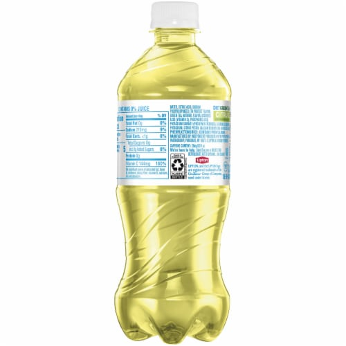 Lipton Diet Iced Green Tea with Citrus Bottle Perspective: right
