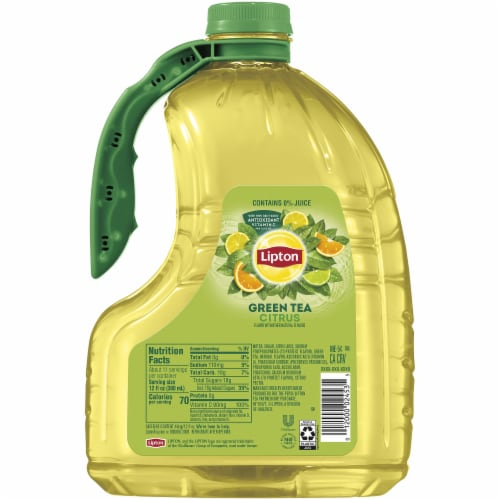 Lipton Iced Green Tea with Citrus Perspective: right