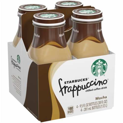 Starbucks Frappuccino Mocha Iced Coffee Drink Perspective: right