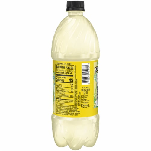 Lipton Brisk Lemonade Perspective: right
