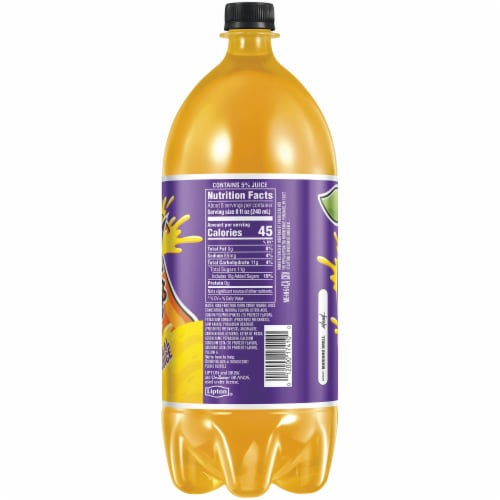 Lipton Brisk Fruteria Mango - 2 L Bottle Perspective: right