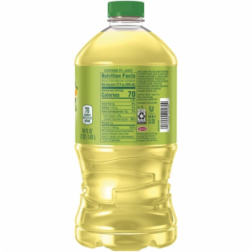 Lipton Green Iced Tea with Citrus Perspective: right