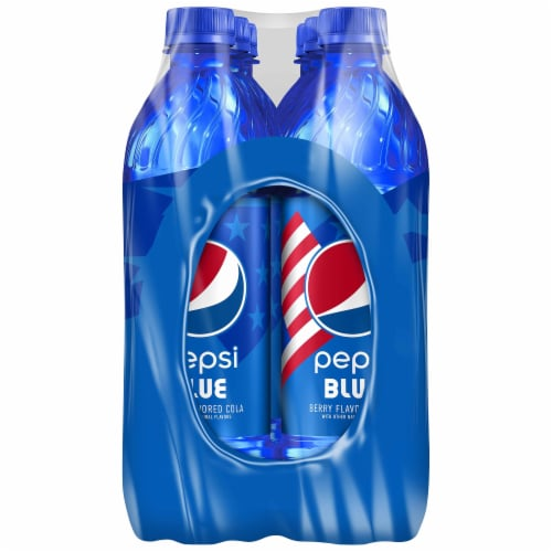 Pepsi Blue Cola - Berry Perspective: right