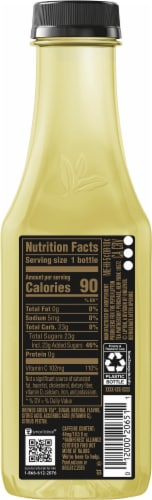 Pure Leaf Real Brewed Passionfruit Green Tea Perspective: right