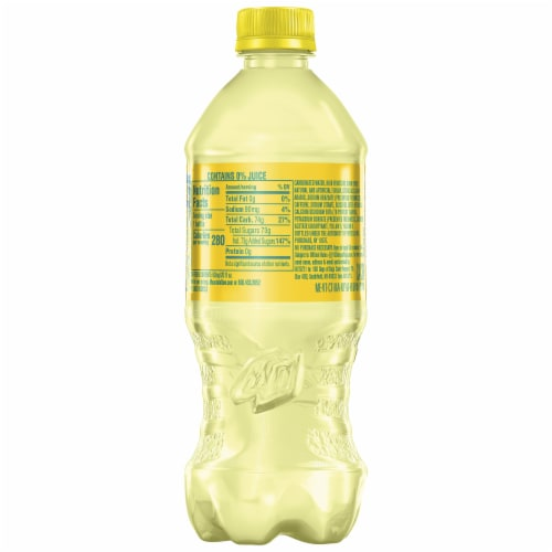Mountain Dew Baja Flash Pineapple Coconut Flavored Soda Perspective: right
