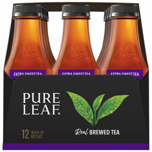 Pure Leaf Real Brewed Extra Sweet Tea Perspective: right