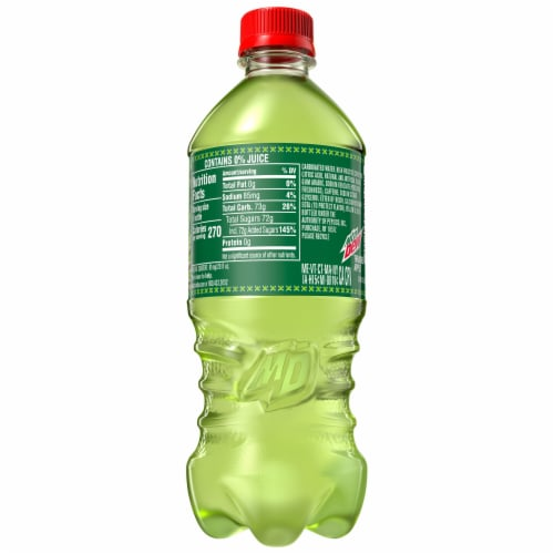 Mountain Dew Thrashed Apple Soda - Exclusive Item! Perspective: right