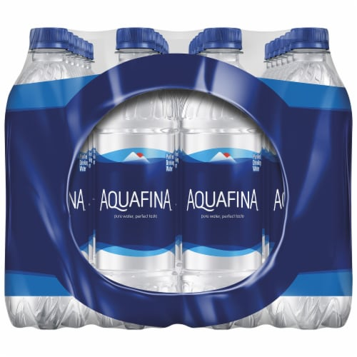 Aquafina Purified Bottled Water Perspective: right