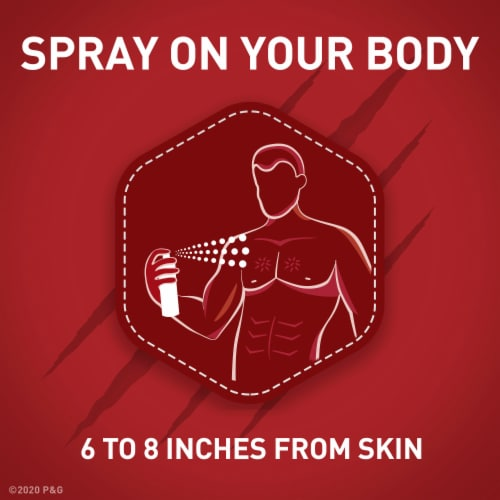 Old Spice Men Body Spray Aluminum Free Wild Collection Krakengard Perspective: right