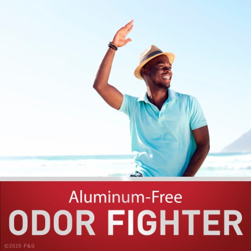 Old Spice Men Red Reserve Deodorant Aluminum Free Dynasty Cologne Scent Perspective: right