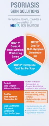 MG217 Psoriasis Coal Tar Formula Medicated Multi-Symptom Ointment Perspective: right