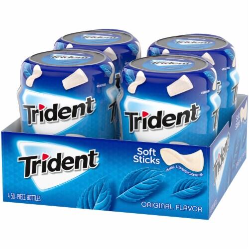 Trident Original Flavor Sugar Free Gum Perspective: right