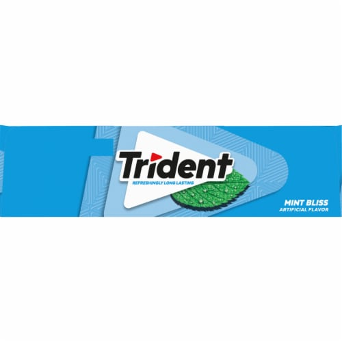 Trident Sugar Free Mint Bliss Gum Perspective: right