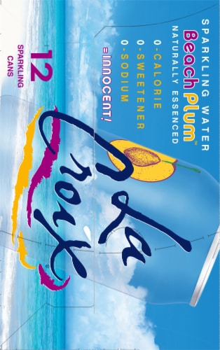 LaCroix Beach Plum Sparkling Water Perspective: right