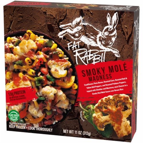 Fat Rabbit Smoky Mole Madness Frozen Meal Perspective: right
