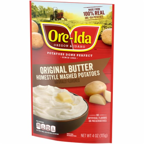 Ore-Ida Original Butter Homestyle Mashed Potatoes Perspective: right
