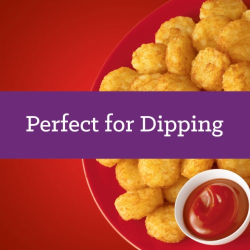 Ore-Ida Golden Crispy Crowns Seasoned Shredded Potatoes Perspective: right
