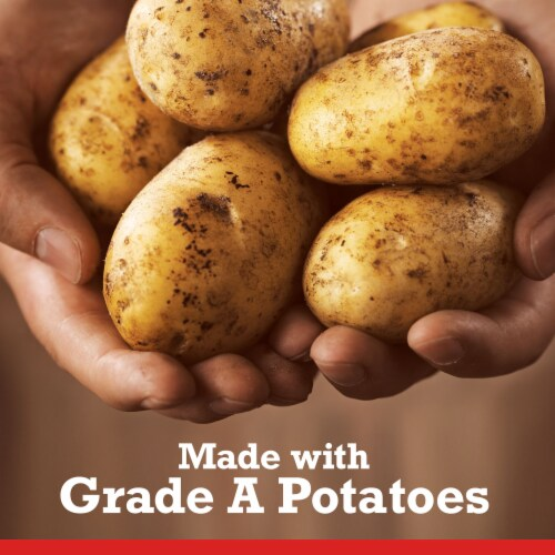 Ore-Ida Extra Crispy Fast Food Fries French Fried Potatoes Perspective: right