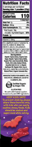 Annie's Homegrown Organic Bunnies & Bats Berry Patch Fruit Snacks 15 Count Perspective: right