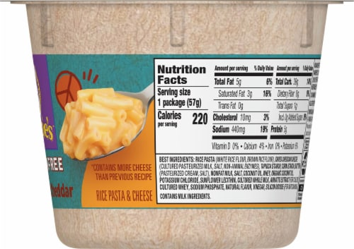 Annie's™ Homegrown Gluten Free Rice Pasta & Cheddar Perspective: right
