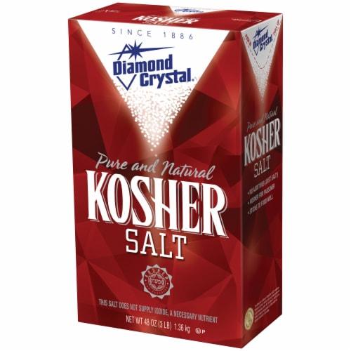 Diamond Crystal Kosher Salt Perspective: right