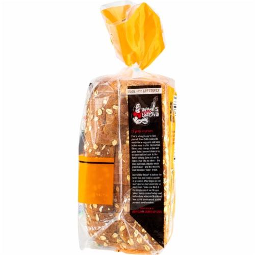 Dave's Killer Bread Organic Honey Oats & Flax Bread Perspective: right