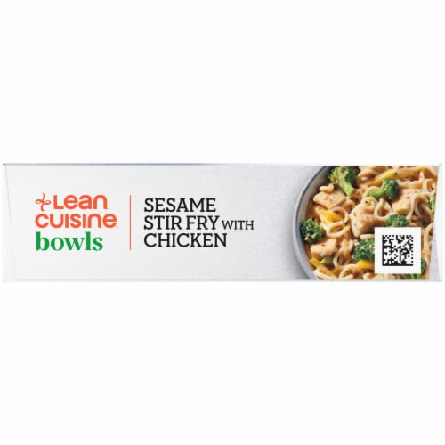 Lean Cuisine Bowls Sesame Stir Fry with Chicken Frozen Meal Perspective: right