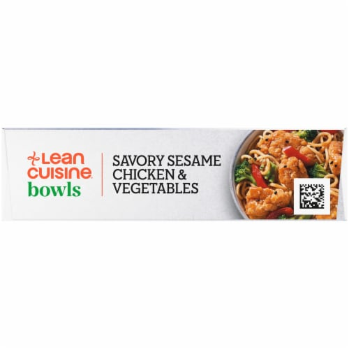 Lean Cuisine Bowls Savory Sesame Chicken & Vegetables Frozen Meal Perspective: right