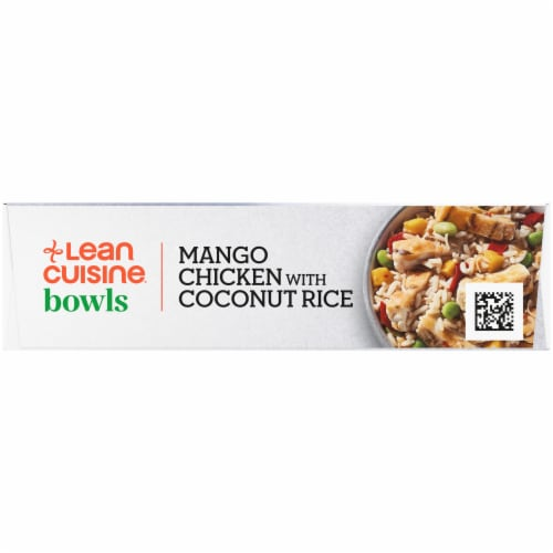 Lean Cuisine High Protein Mango Chicken with Coconut Rice Frozen Meal Perspective: right