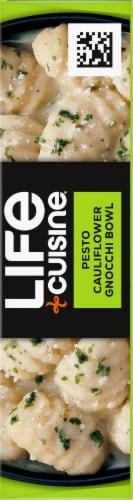 Life Cuisine Pesto Cauliflower Gnocchi Bowl Frozen Meal Perspective: right
