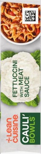 Lean Cuisine Cauli'Bowls Fettucini with Meat Sauce Cauliflower Pasta Frozen Meal Perspective: right