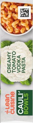 Lean Cuisine Cauli'Bowls Creamy Tomato Cauliflower Vodka Pasta Frozen Meal Perspective: right