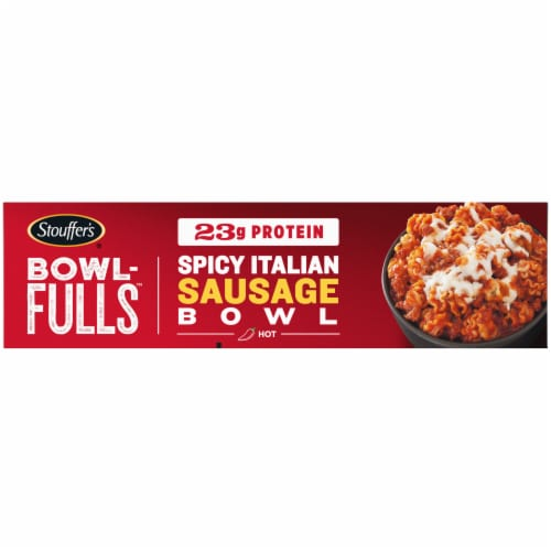 Stouffer's Bowl-Fulls Spicy Italian Sausage Bowl Frozen Meal Perspective: right