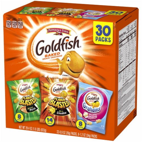 Goldfish Blasted Variety Pack Perspective: right
