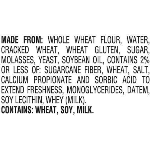 Pepperidge Farm Thin Sliced Whole Wheat Whole Grain Bread Perspective: right