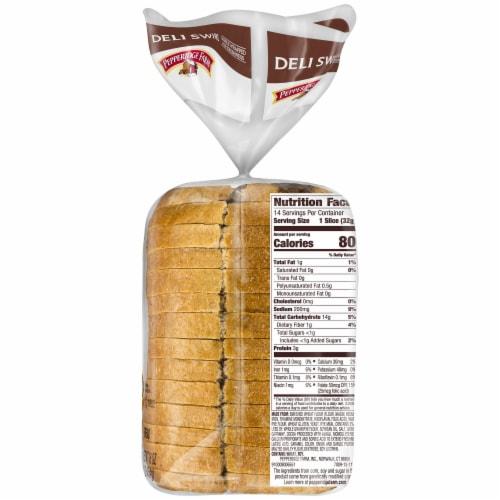 Pepperidge Farm Deli Swirl Rye & Pumpernickel Bread Perspective: right