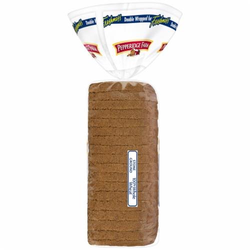 Pepperidge Farm Stone Ground 100% Whole Wheat Bread Perspective: right