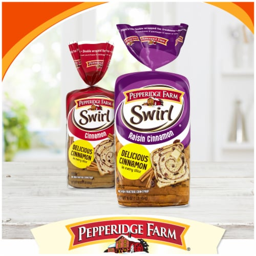 Pepperidge Farm Pumpkin Spice Swirl Bread Perspective: right