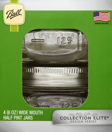 Ball Wide Mouth Jars - 4 Pack Perspective: right