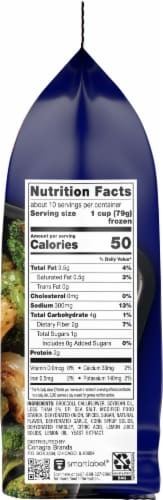 Birds Eye® Oven Roasters™ Broccoli and Cauliflower Frozen Vegetables Family Size Perspective: right
