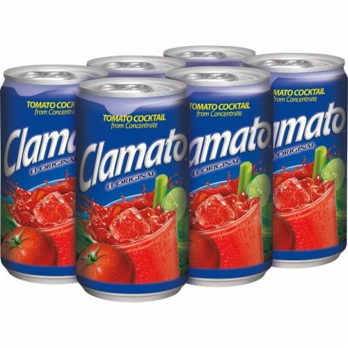 Clamato Original Tomato Cocktail Perspective: right