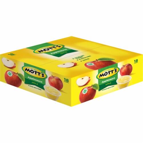 Mott's Applesauce Cups Perspective: right
