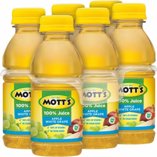 Mott's 100% Apple White Grape Juice Perspective: right