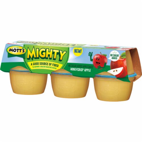 Mott's Mighty Honeycrisp Apple Applesauce Perspective: right